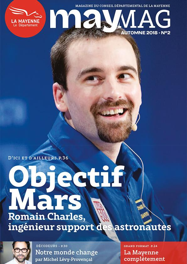 MayMag N°2 - Automne 2018 - Objectif Mars, Romain Charles ingénieur support des astronautes